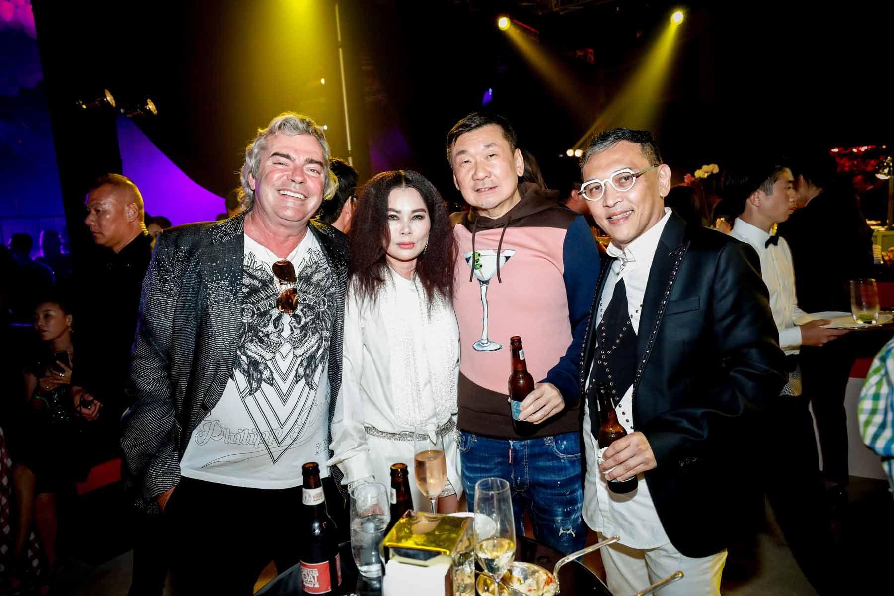 Franck Muller, Susanna Kang, Darren Cheong, Tony Tan