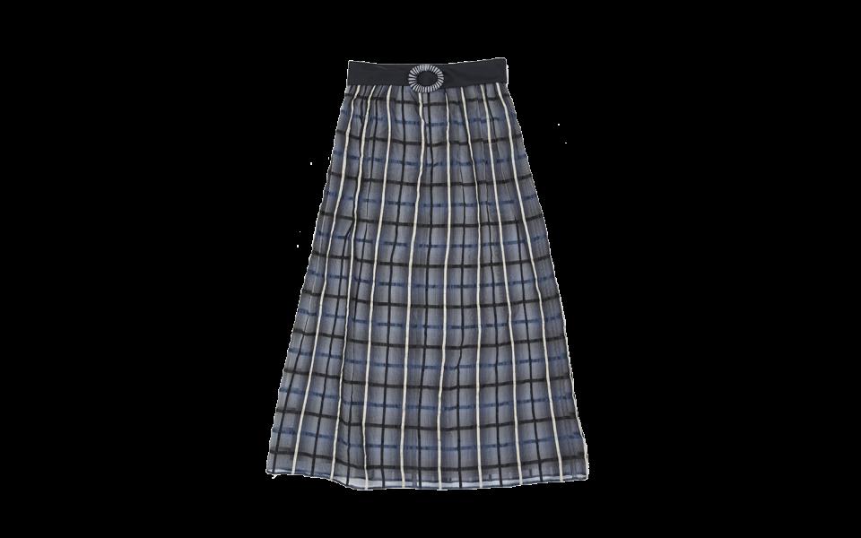 Emporio Armani Sheer Skirt