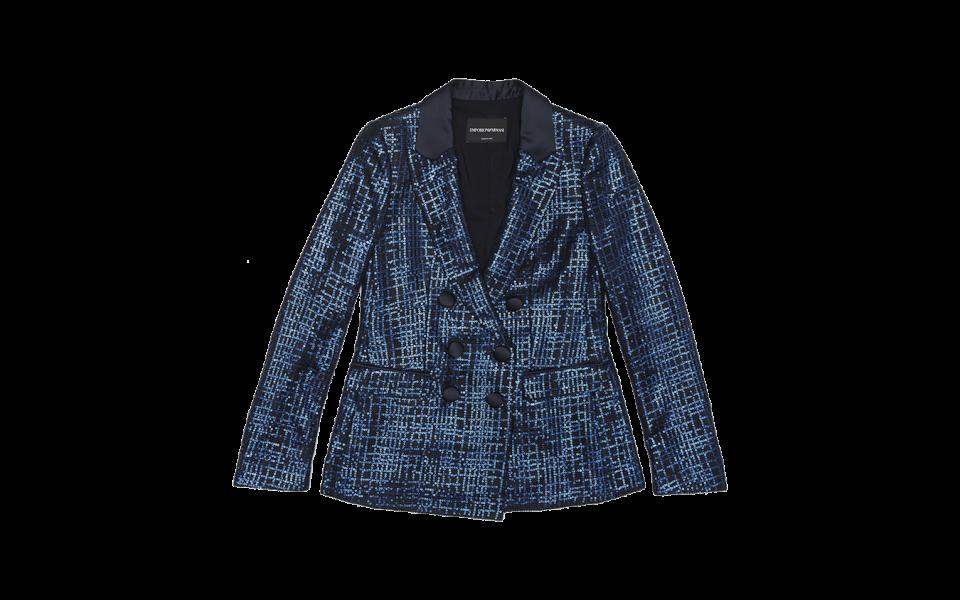 Emporio Armani Sequinned Jacket