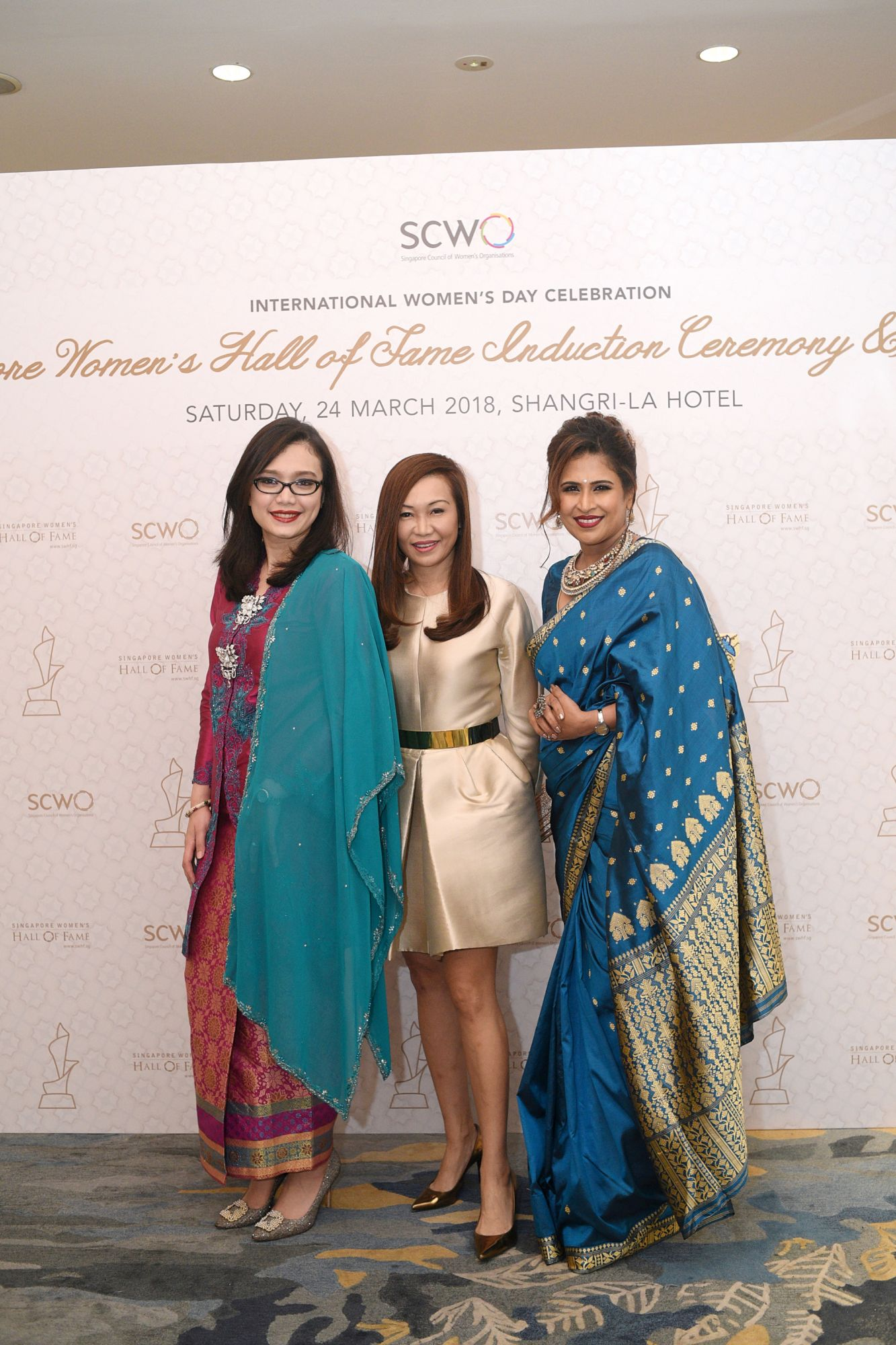 Hazlina Amran-Halim, Trina Liang-Lin, Lavinia Thanapathy