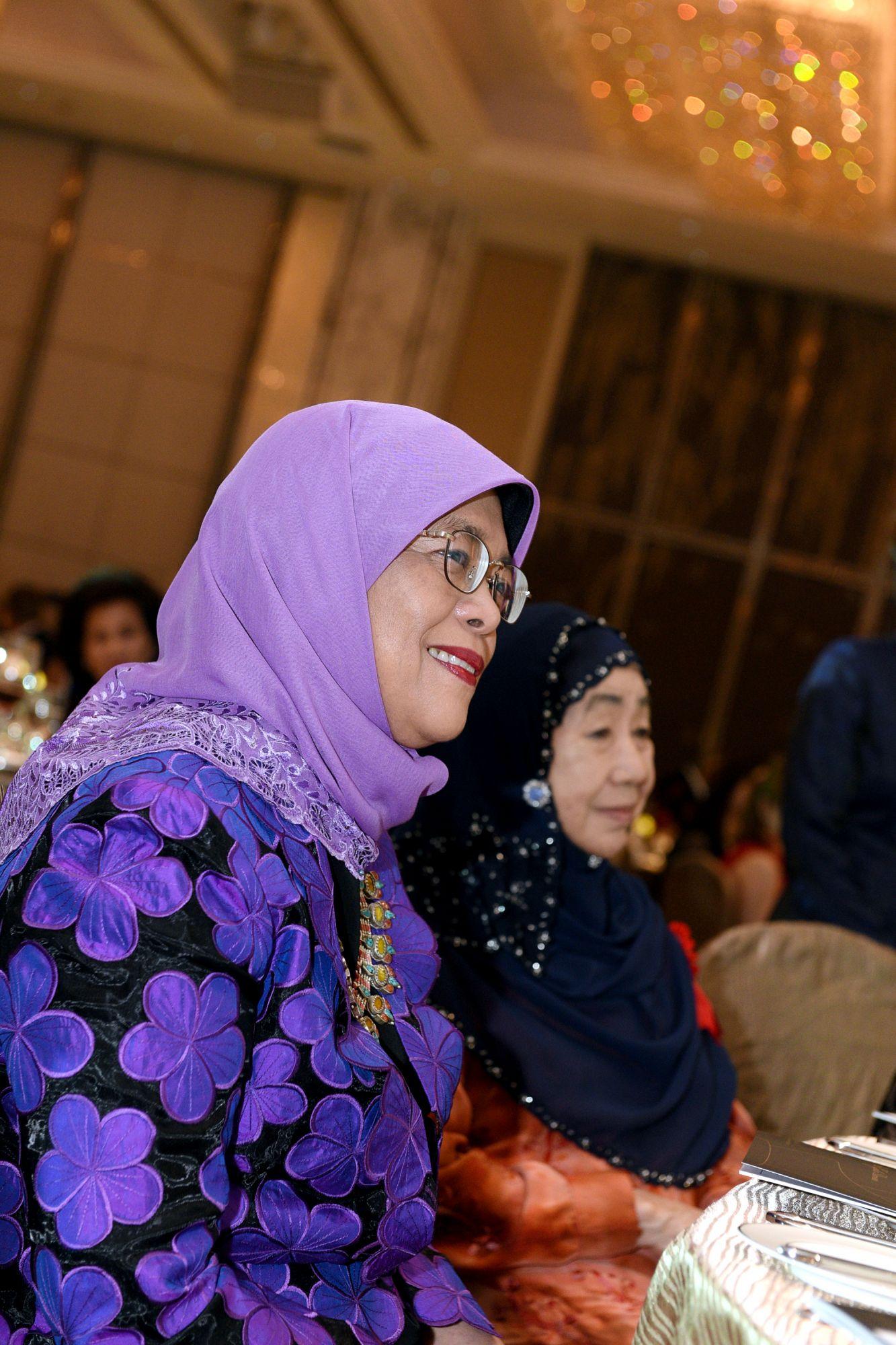 Halimah Yacob, Puan Noor Aishah