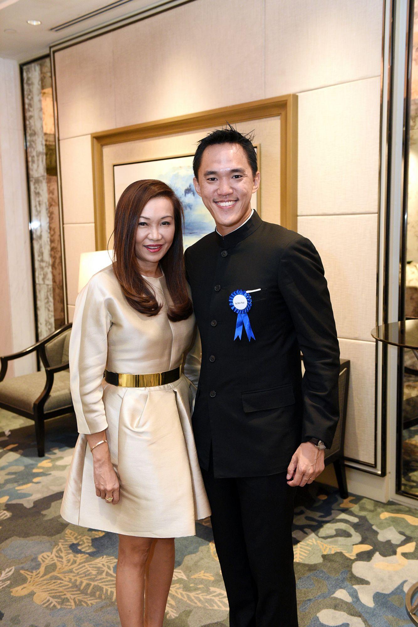 Trina Liang-Lin, Ho Ren Hua