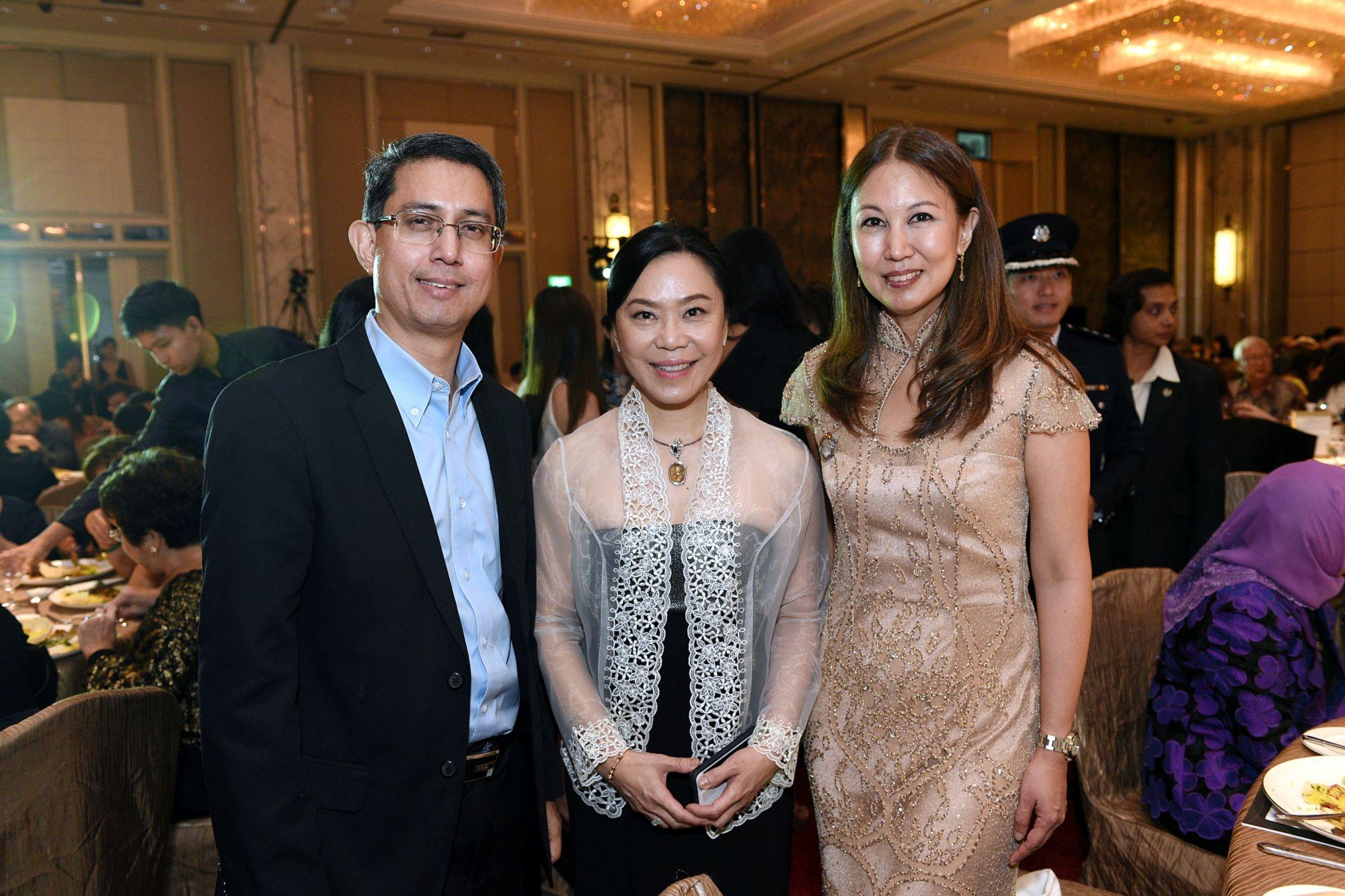 Muhammad Faishal Ibrahim, Ann Tan, June Rin