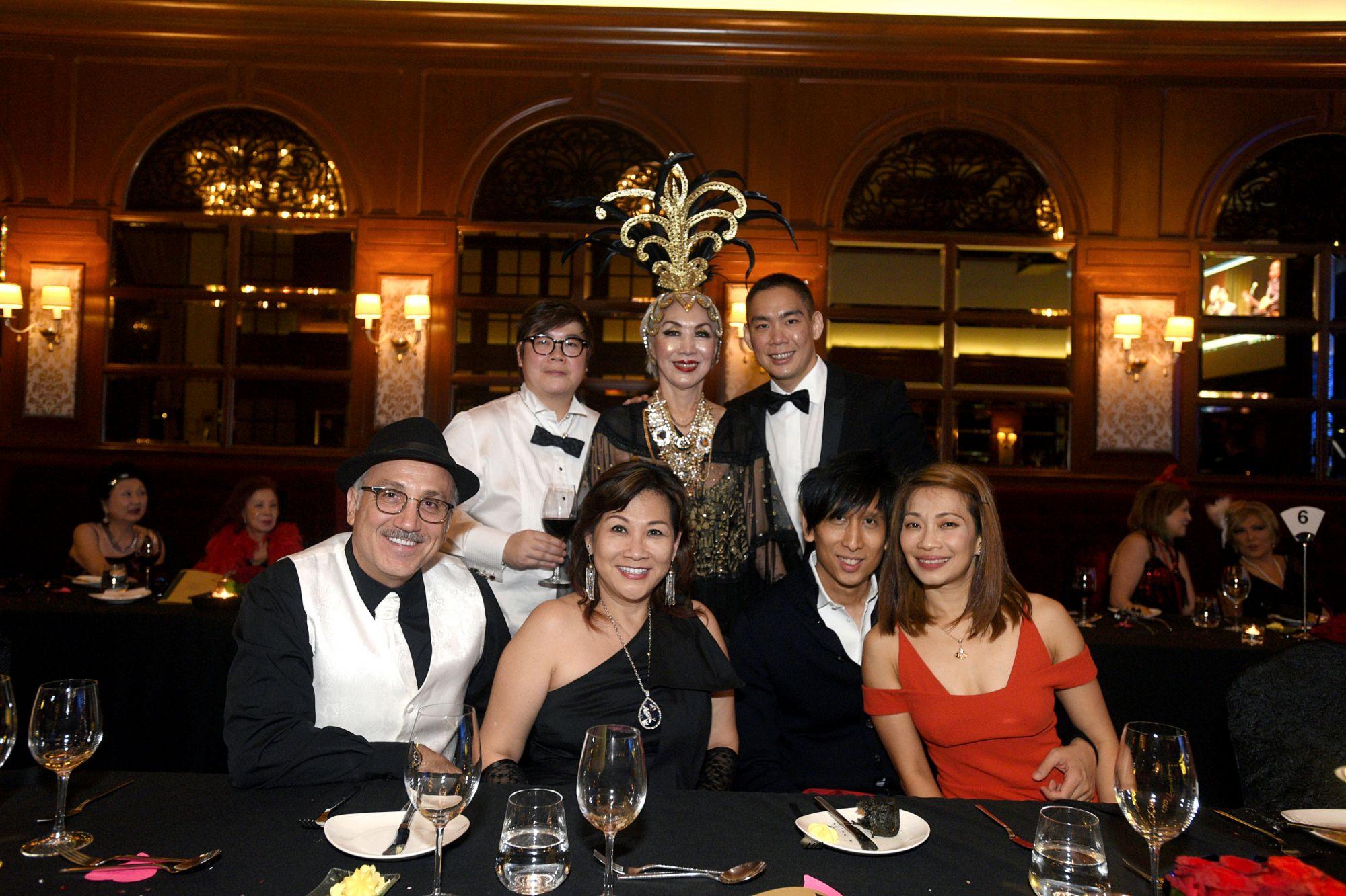 Jean Nasr, Marisa Teo, Pauline Chan, Peggy Jeffs, Richmond Teo, Damien Low, Corinne Ng