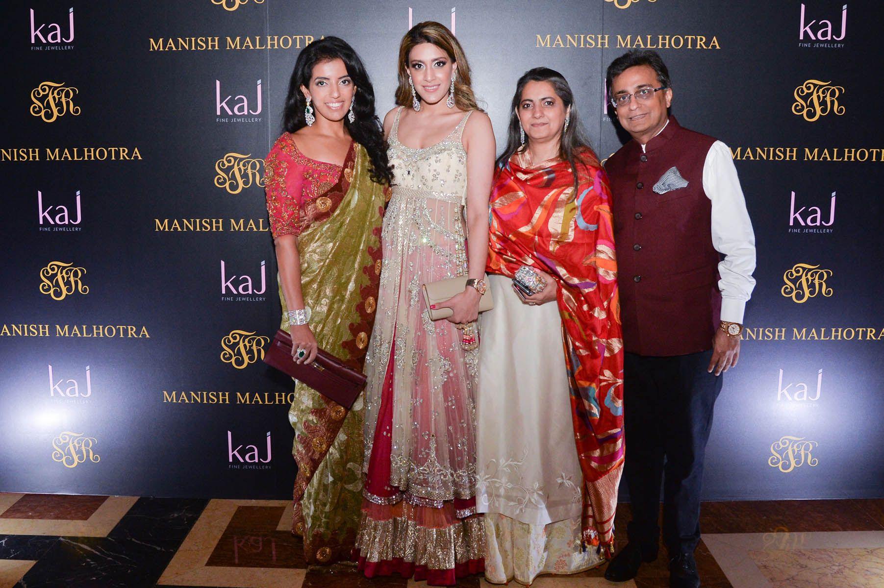 Michelle Buxani, Karina Buxani, Naina Buxani, Mahesh Buxani