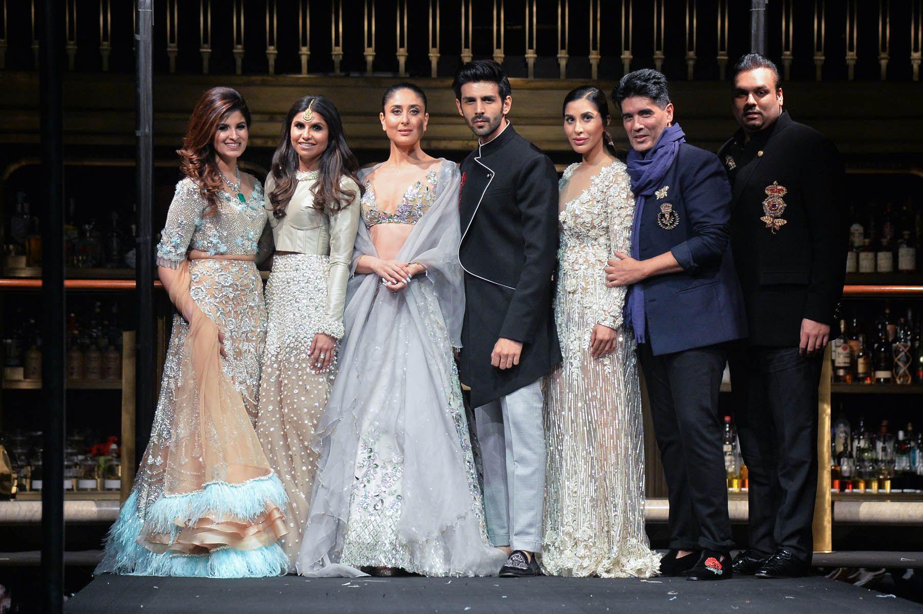 Shazreh Rahman, Kaj Fabiani, Kareena Kapoor Khan, Kartik Aaryan, Sophie Chaudhary, Manish Malhotra, Shayan F Rahman