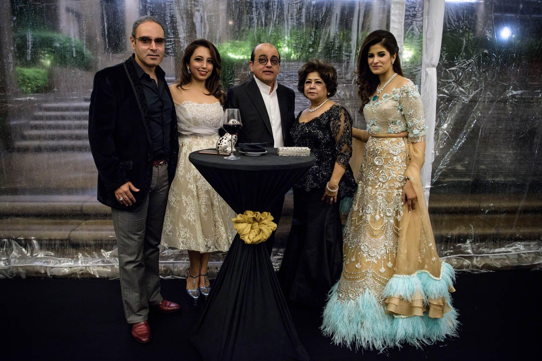 Sameer Aswani, Dimple Aswani, Ashok Hiranandani, Asha Hiranandani, Shazreh Rahman