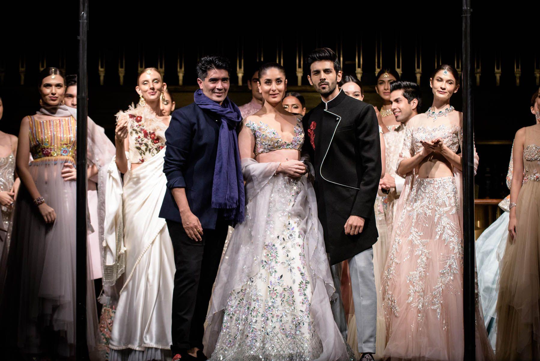 Manish Malhotra, Kareena Kapoor, Kartik Aaryan