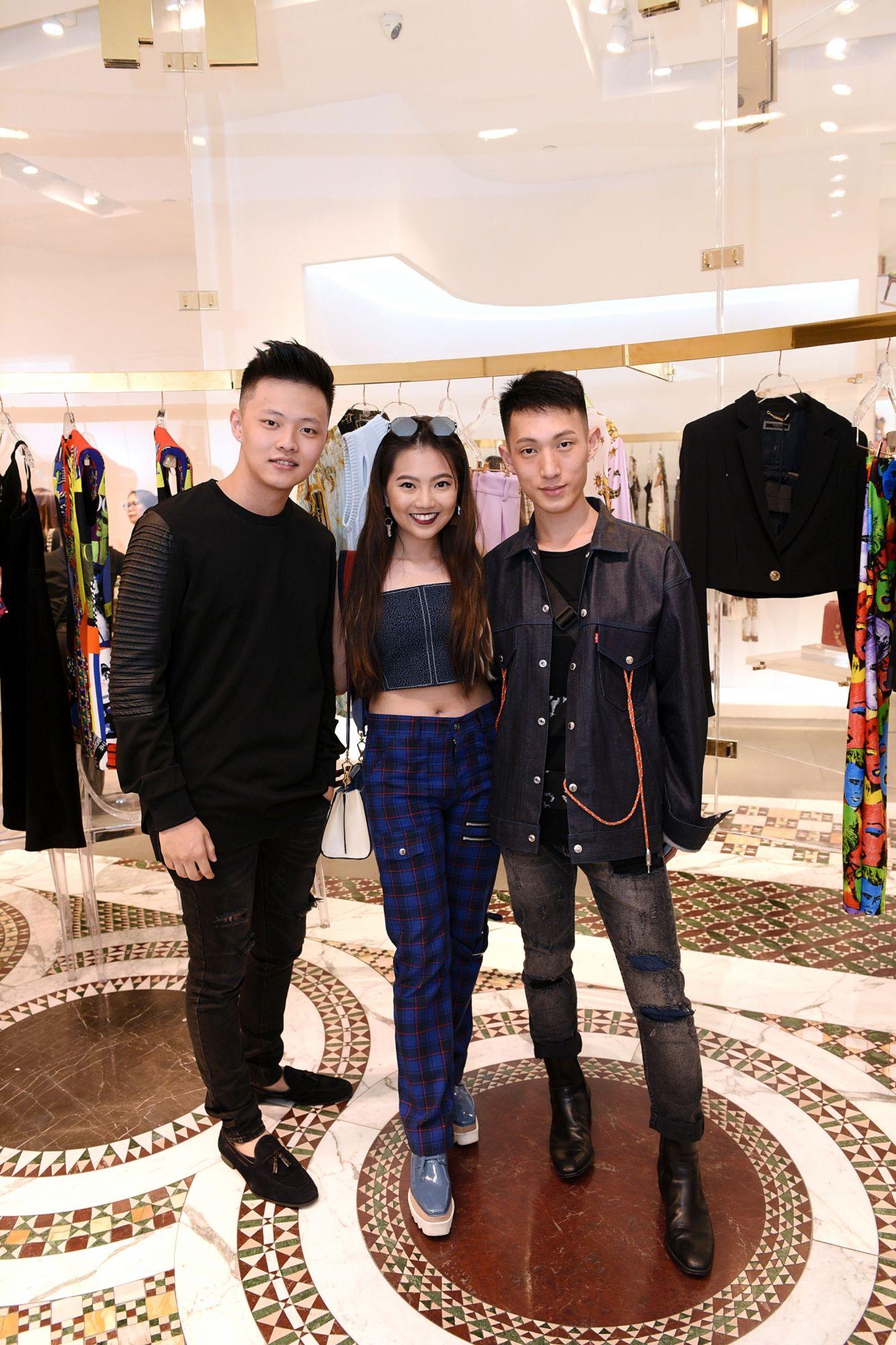 Jake Lim, Vanessa Ng, Dyon Foo