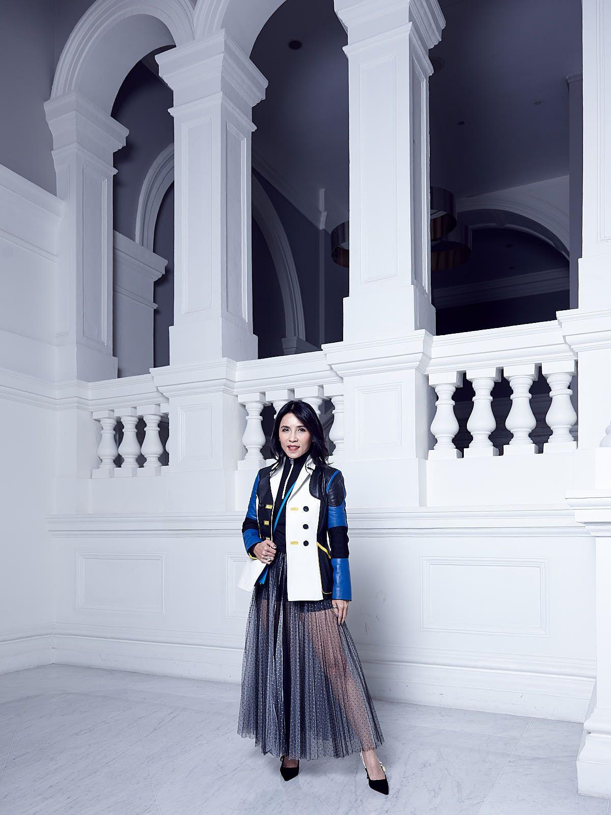 Fanty Soenardy in Dior