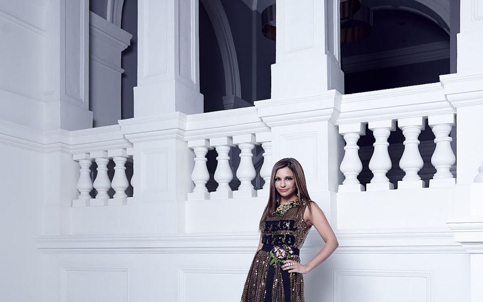 Rasina Rubin in Dolce & Gabbana