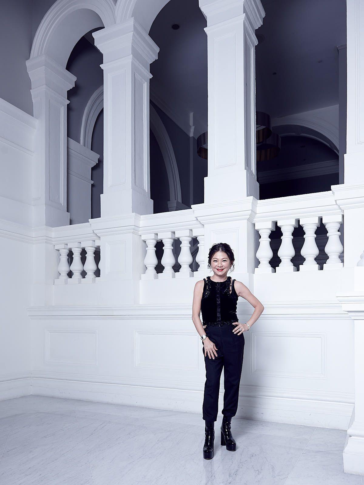 Angela Ng in Deborah Lyons and Vetements