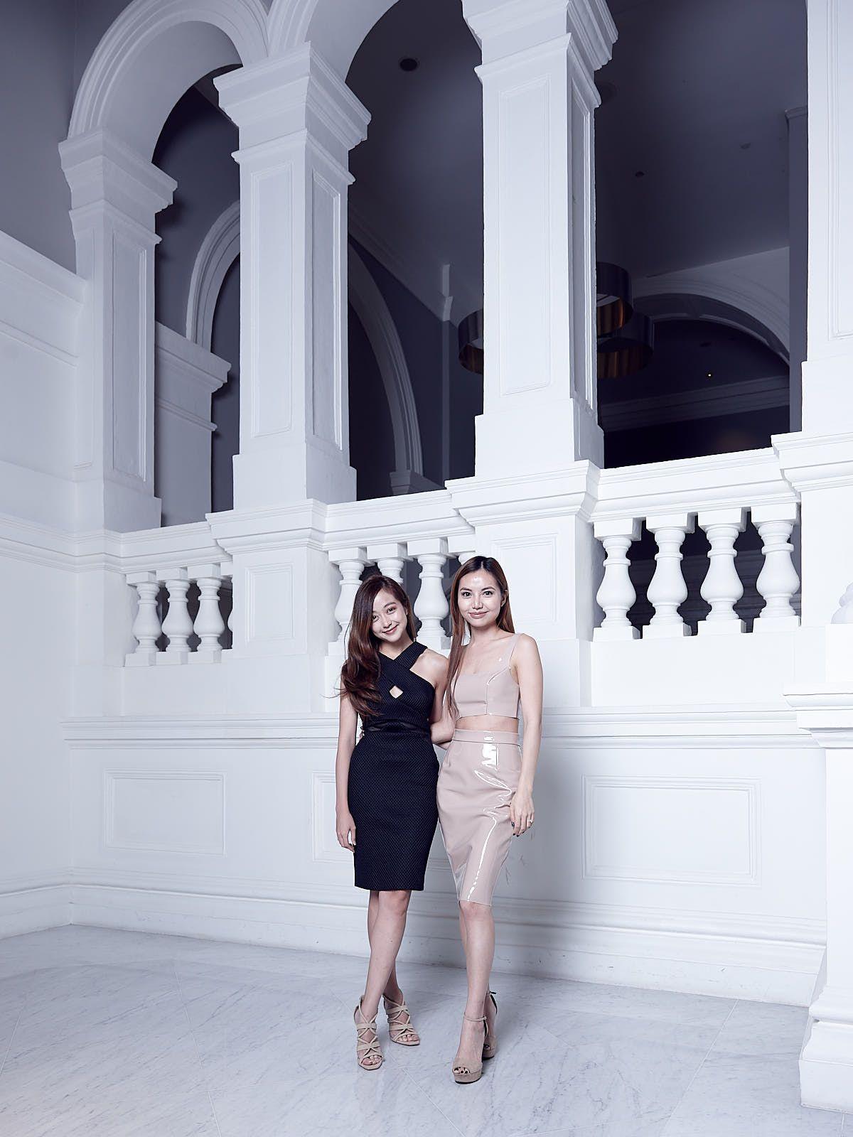 Alexis Goh, Rachel Wee in Meshki