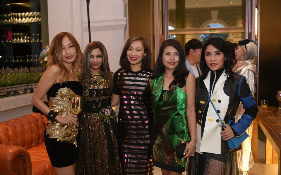 Tan Min-Li, Rasina Rubin, Corinne Ng, Marilyn Lum, Fanty Soenardy