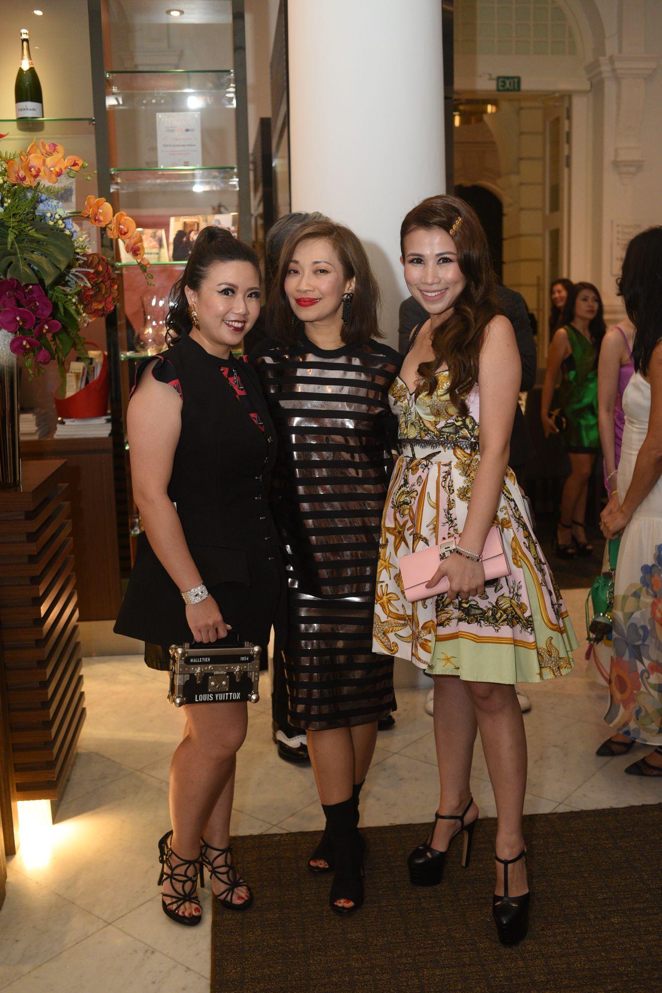 Siow Yin Yin, Corinne Ng, Sammi Lin