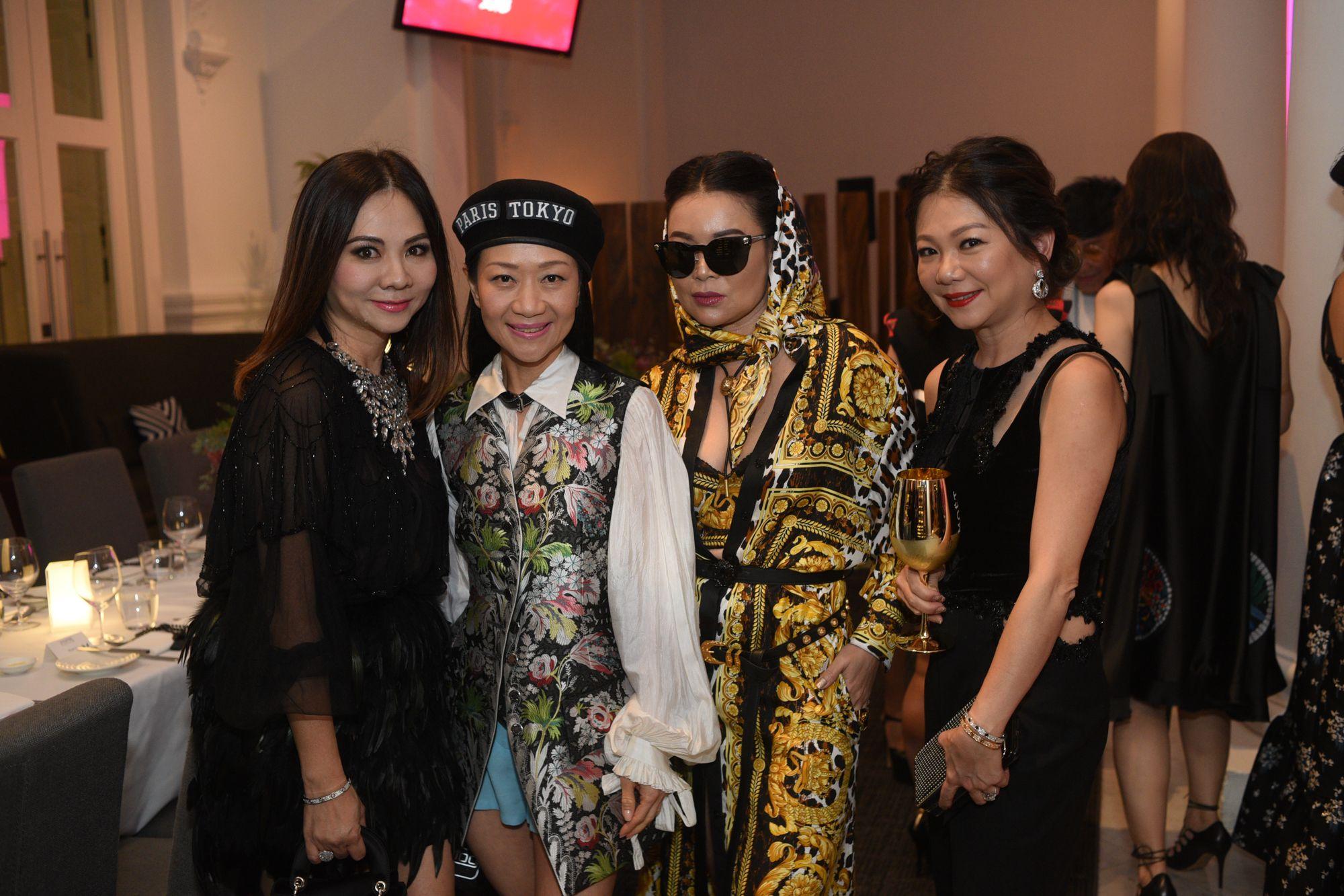 Jacelyn Lai, Dana Cheong, Susanna Kang, Angela Ng