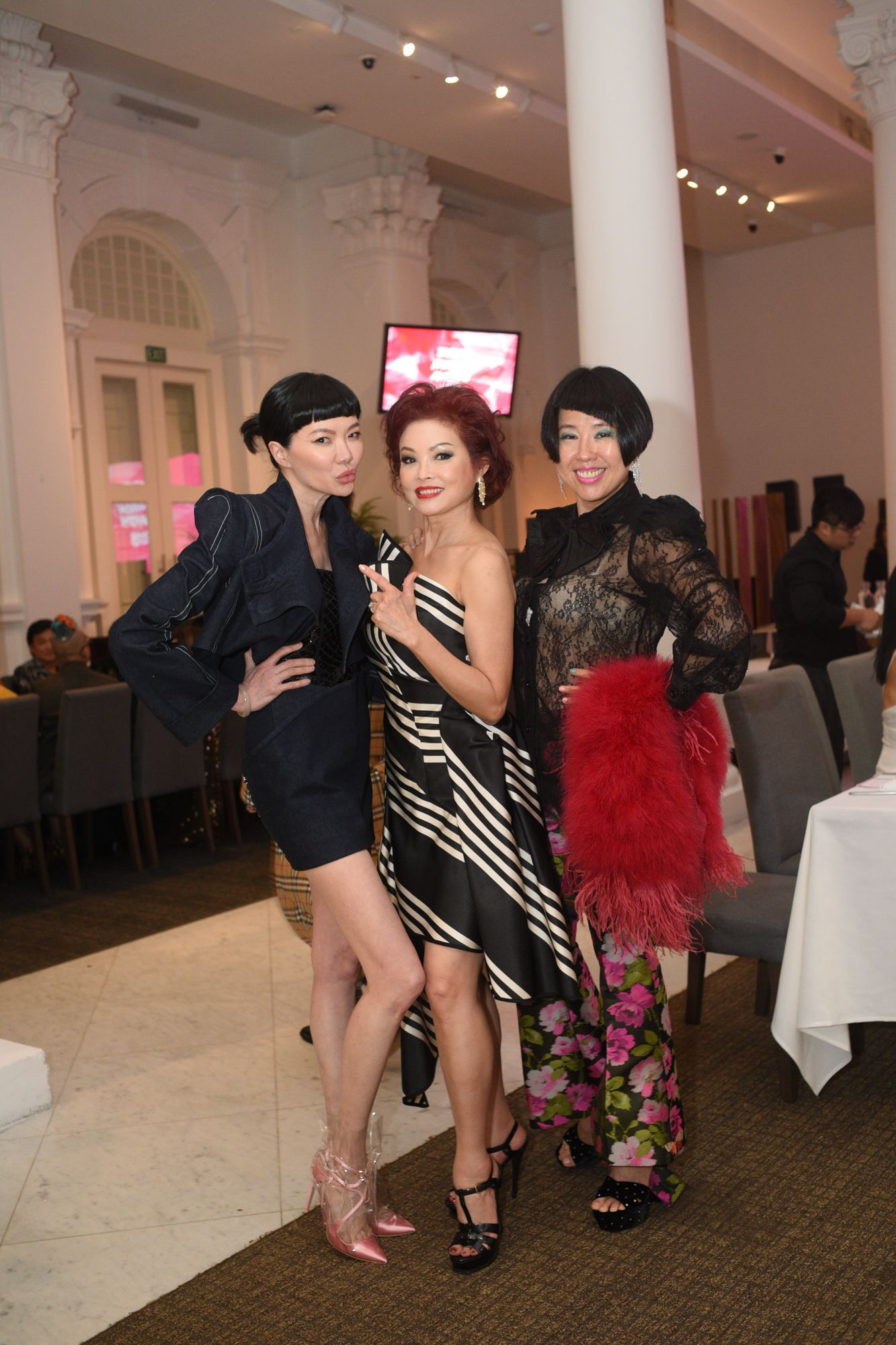 Georgia Lee, Linda Soo-Tan, Rosalynn Tay
