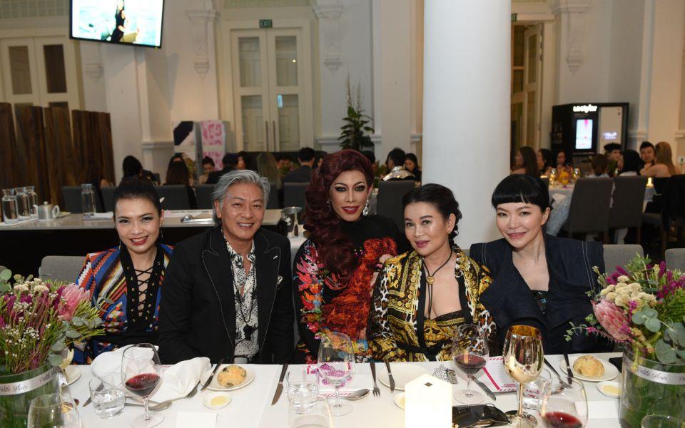 Ho Ching Lin, Dick Lee, Pangina Heals, Susanna Kang, Georgia Lee