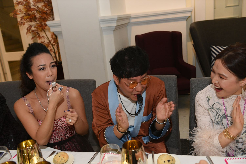 Carmen Ow, Desmond Lim, Dawn Koh