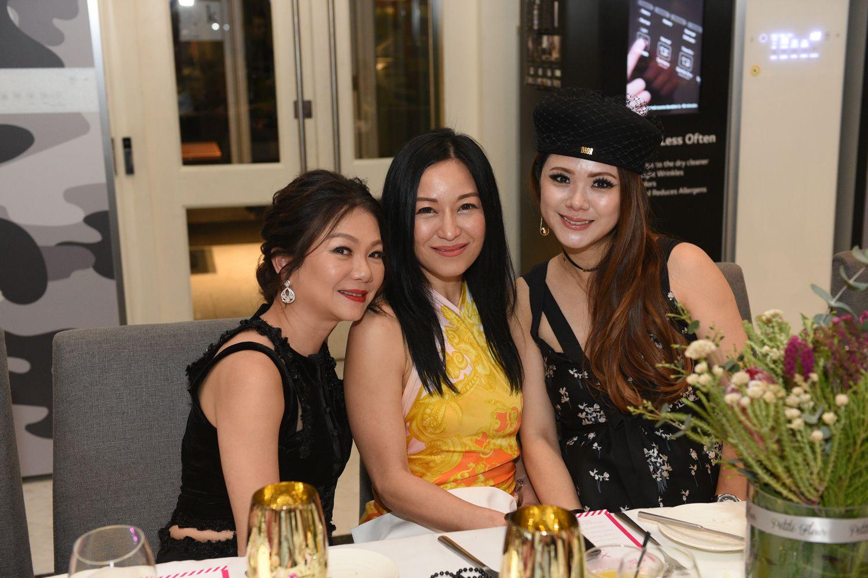 Angela Ng, Nina Ng, Chermaine Pang