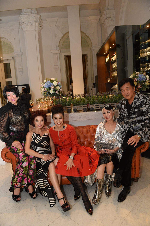 Rosalynn Tay, Linda Soo-Tan, Grace Yeh, Peggy Jeffs, Victor Ow