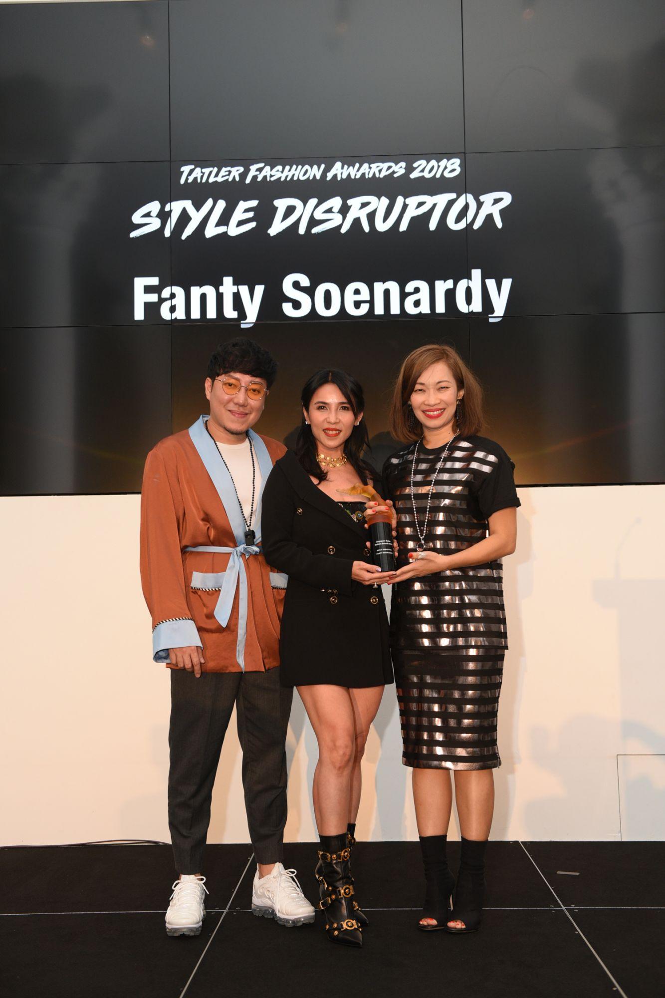 Desmond Lim, Fanty Soenardy, Corinne Ng