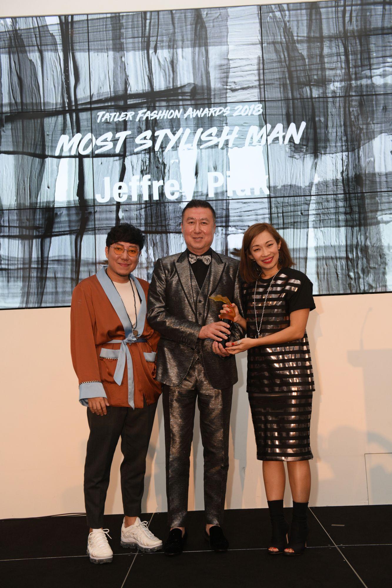 Desmond Lim, Jeffrey Piak, Corinne Ng