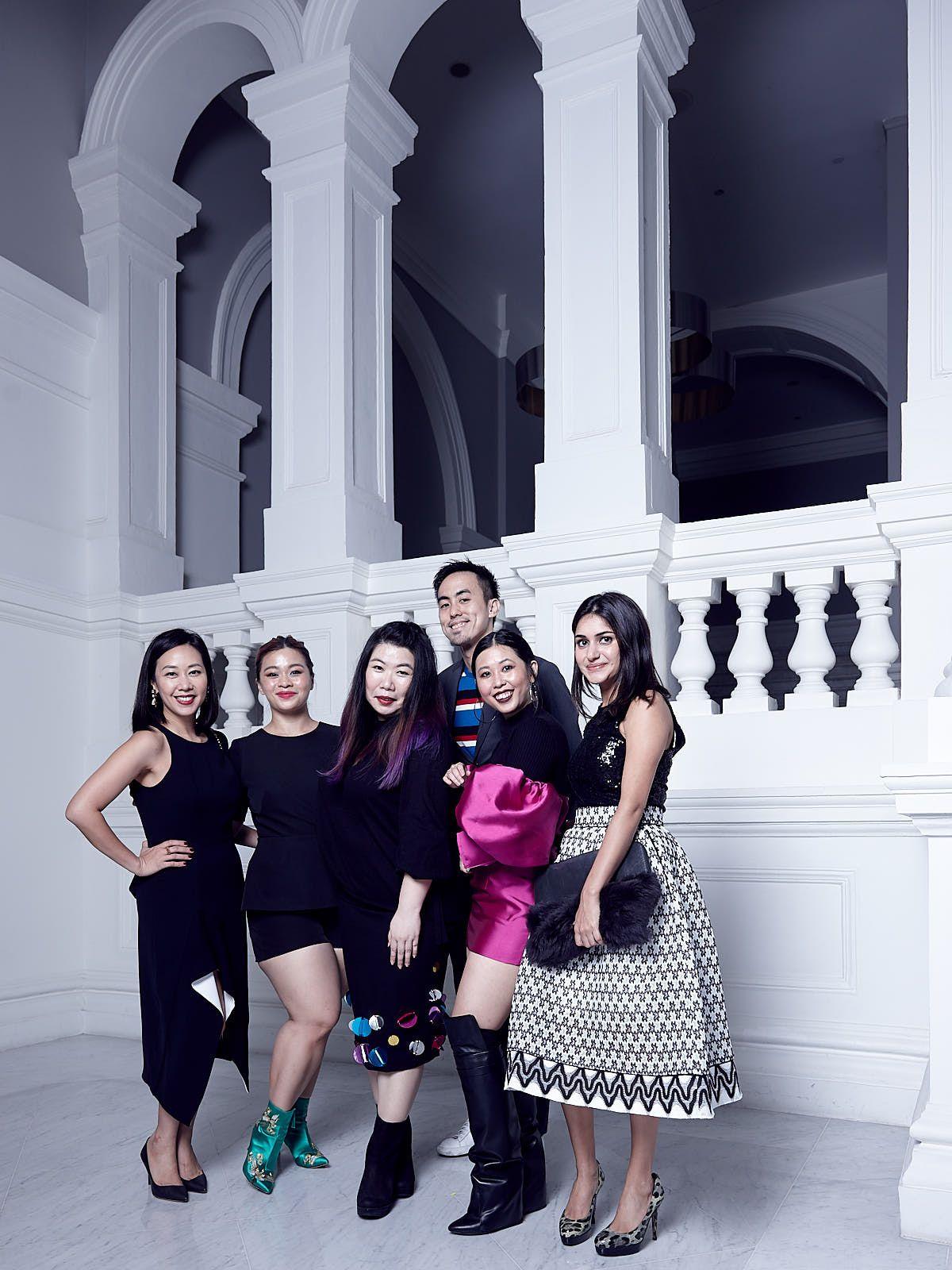 Kissa Castañeda, Nicolette Wong, Elizabeth Lee, Terence Lim, Cheryl Chan, Karishma Tulsidas