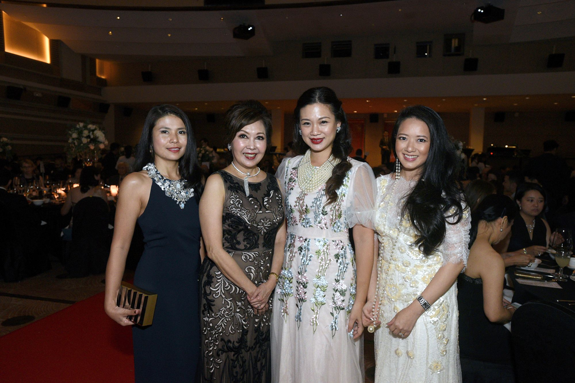 Marilyn Lum, Laura Hwang, Tjin Lee, Elaine Kim