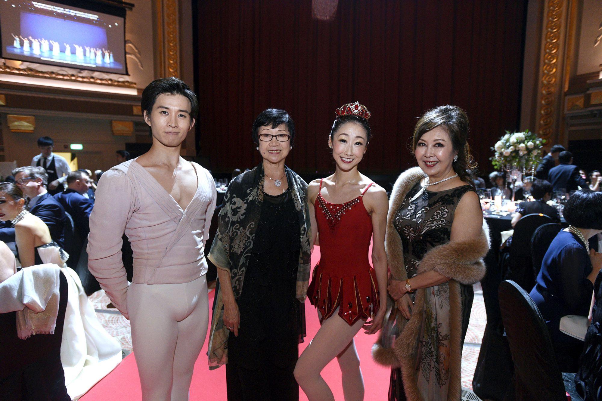 Kenya Nakamura, Goh Soo Khim, Chihiro Uchida, Laura Hwang