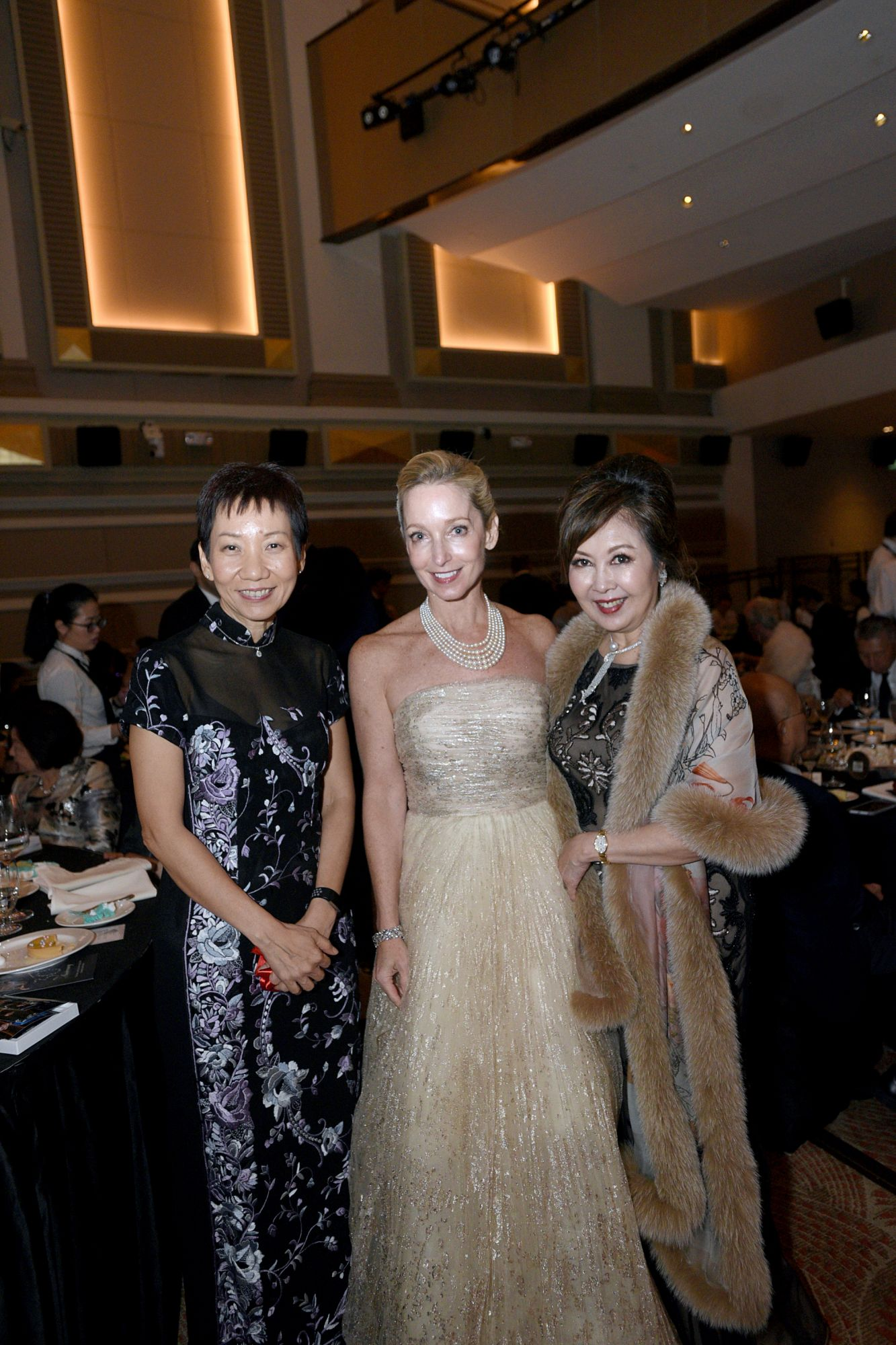 Grace Fu, Paige Parker, Laura Hwang