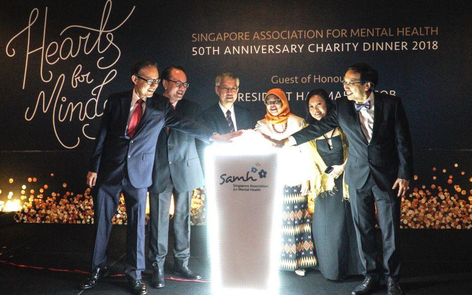 Leslie Lim, Lee Cheng, Francis Yeoh, Halimah Yacob, Tan Lili, Daniel Fung