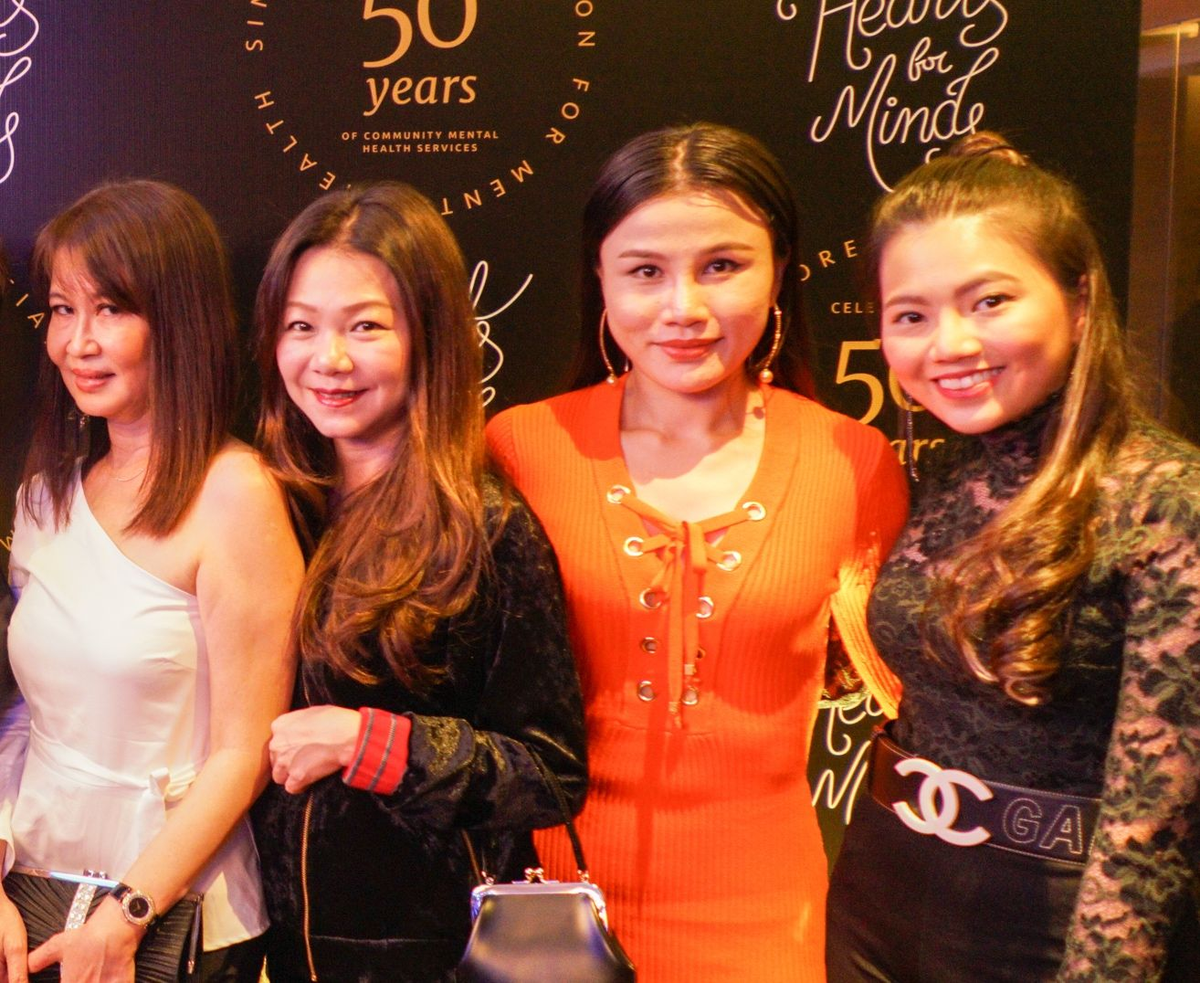 Evelyn Sam, Angela Ng, Jilly Wang, Vanessa Ng