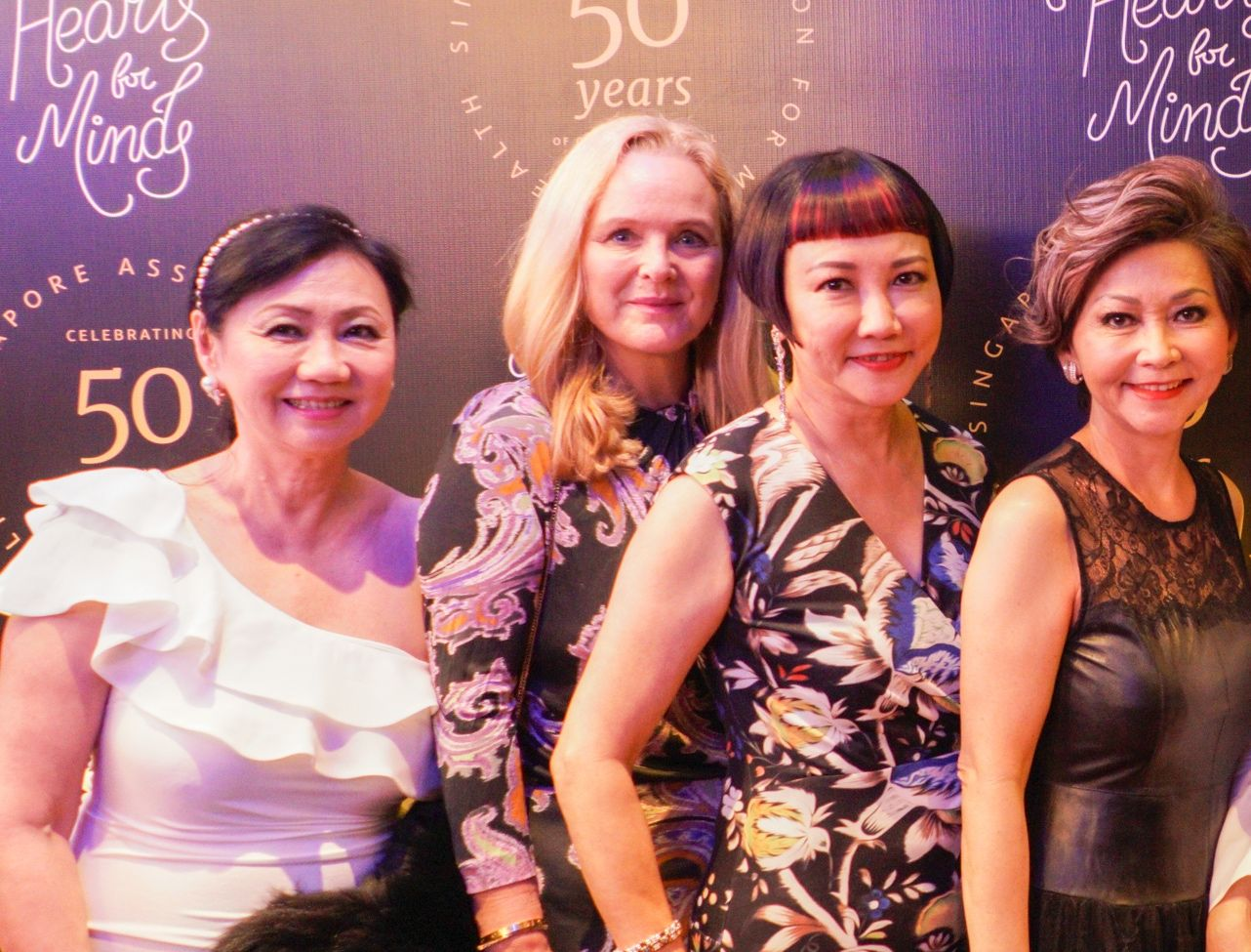 Renee Tan, Mette Hartman, Frances Low, Allison Chee