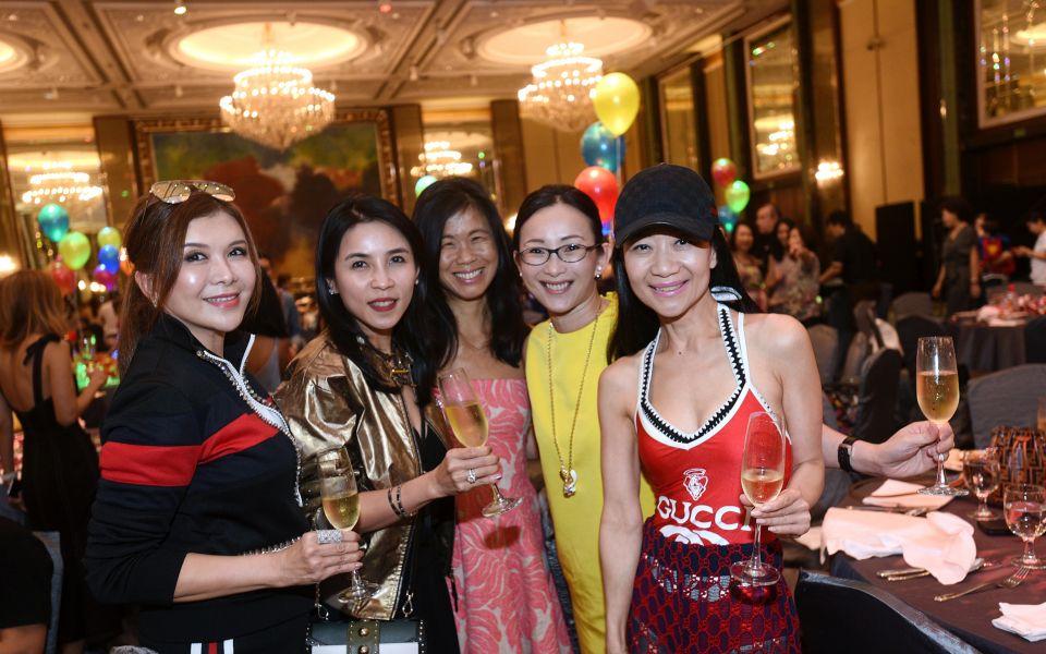Belinda Chua, Fanty Soenardy, Clara Goh, Caroline Heah, Dana Cheong