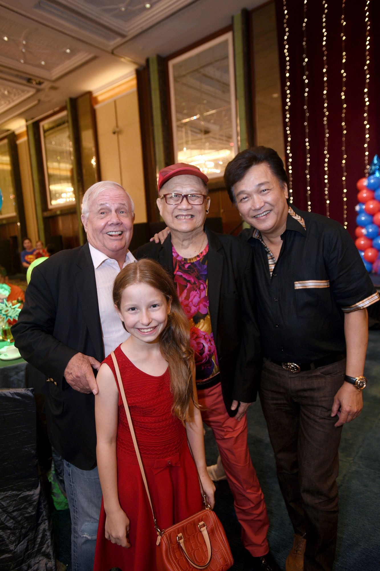 Jim Rogers, Bee Rogers, Billy Lee, Victor Ow