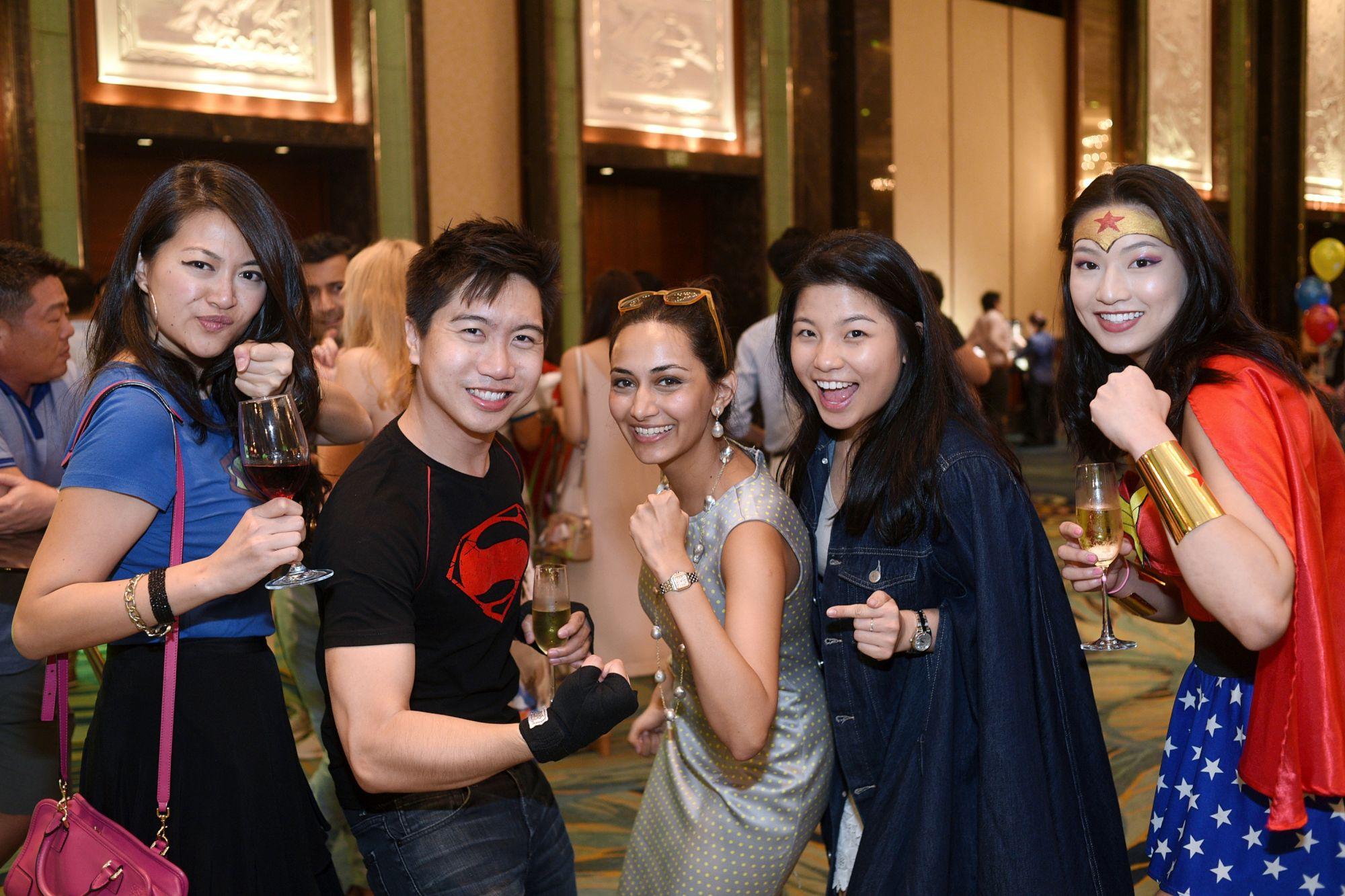 Shuyi Liu, Johannes See, Nada Jumabhoy, Rosanna Kuek, Patricia Siswando
