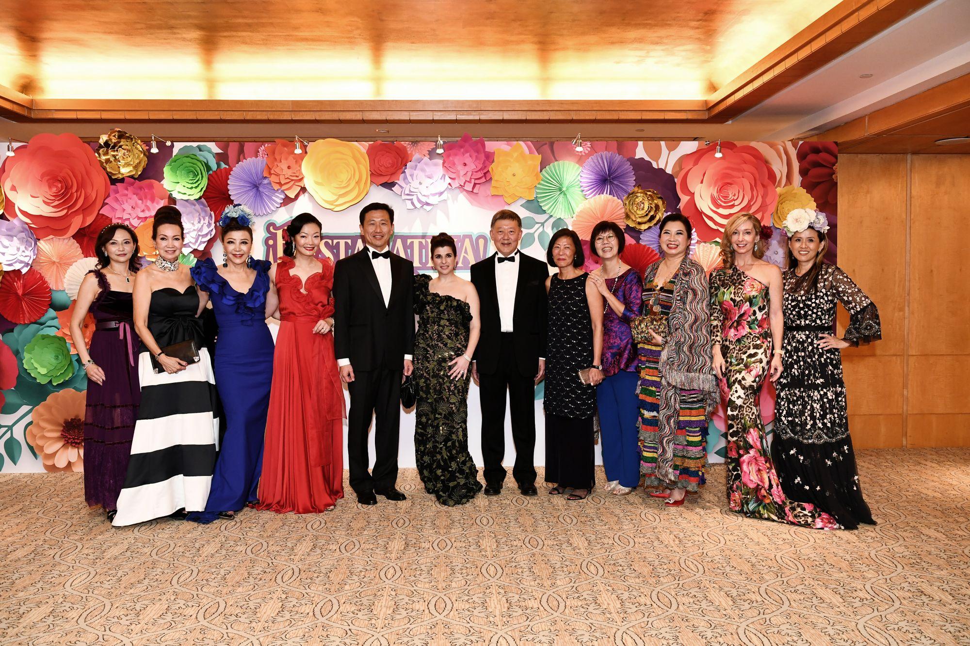 Julie Lo, Celeste Basapa, Grace Yeh, Maisy Koh, Ong Ye Kung, Odile Benjamin, Goh Yew Lin, Kwan Lui, Annie Koh, Kris Tan, Paige Parker, Judy Hunt