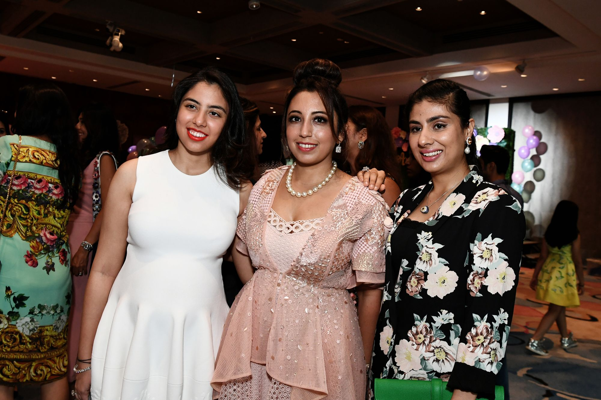 Shaila Hiranandani, Dimple Aswani, Nayantara Dhillon