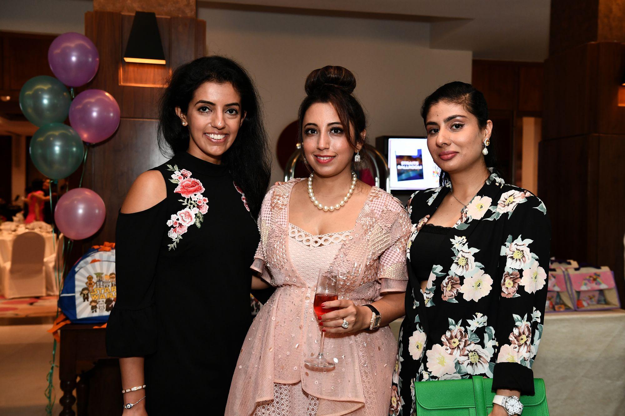 Michelle Buxani, Dimple Aswani, Nayantara Dhillon