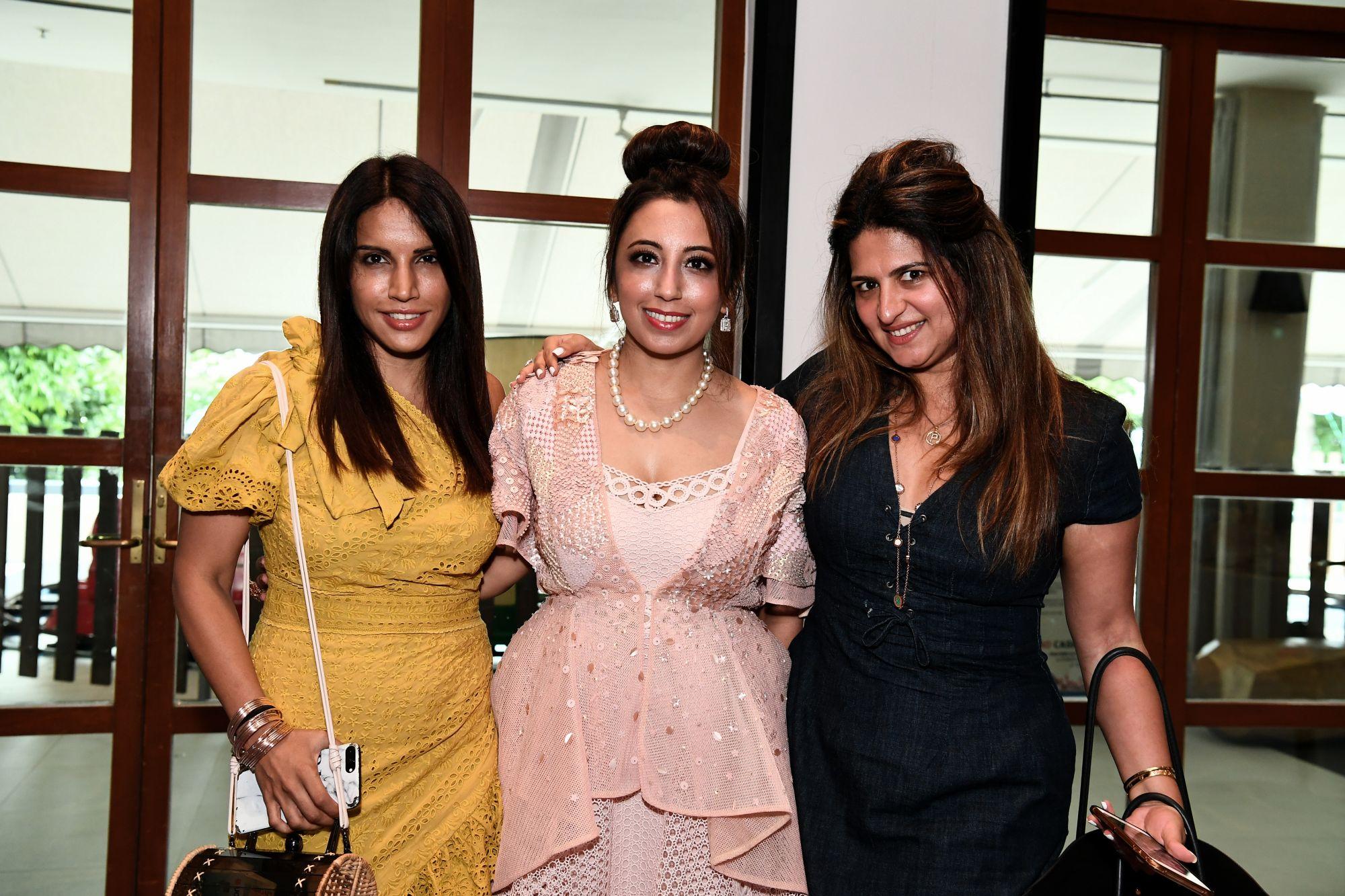 Resham Melwani, Dimple Aswani, Puja Kripalani