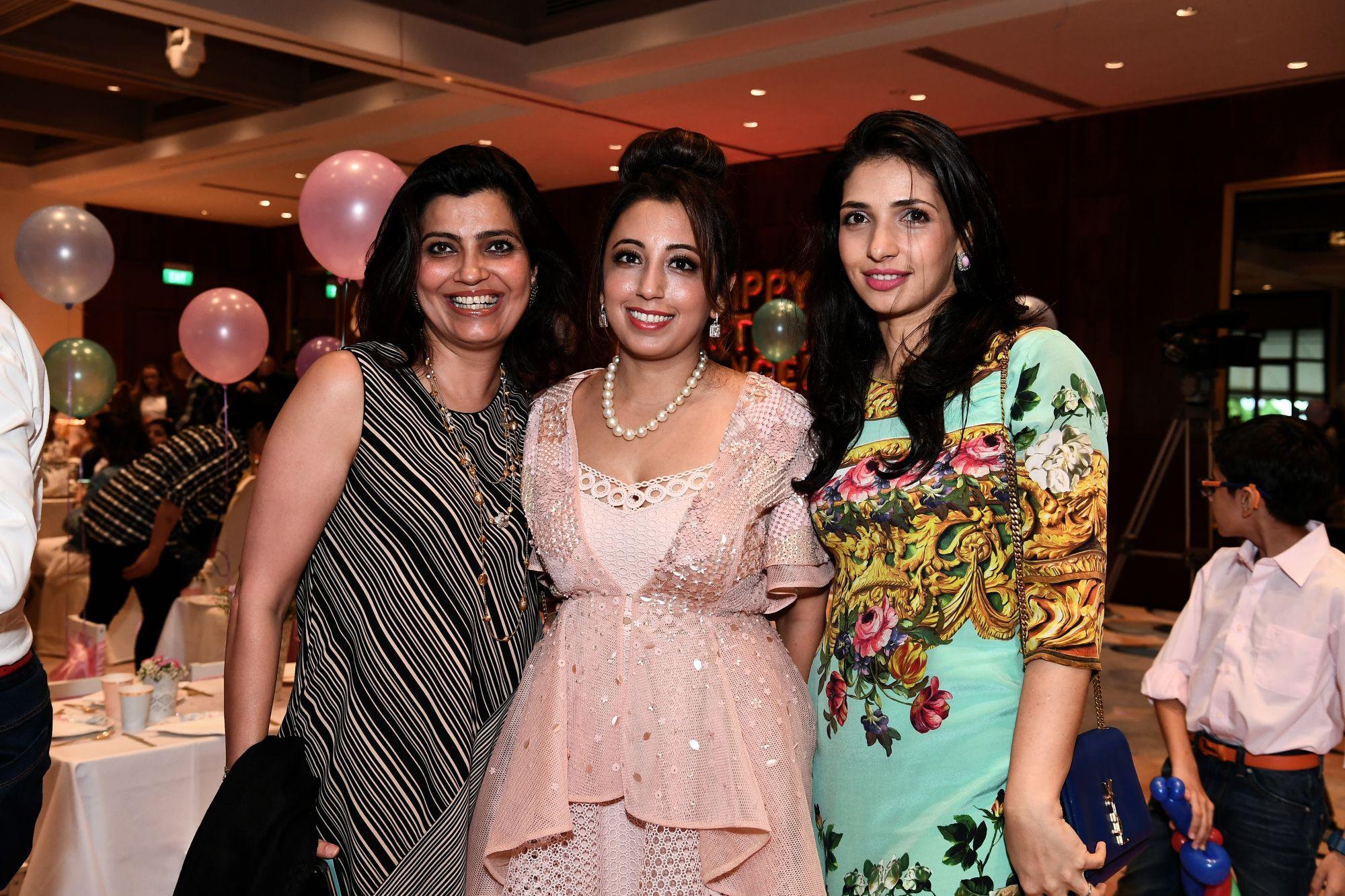 Reema Chawla, Dimple Aswani, Parizad Sukhani