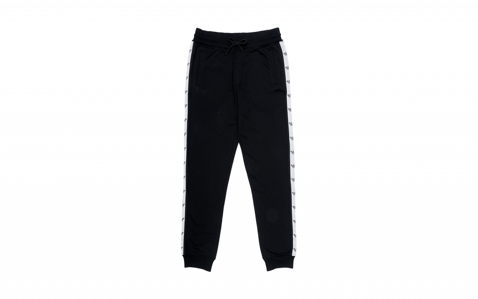 Emporio Armani Sport Pants with Side Jacquard Trimmings