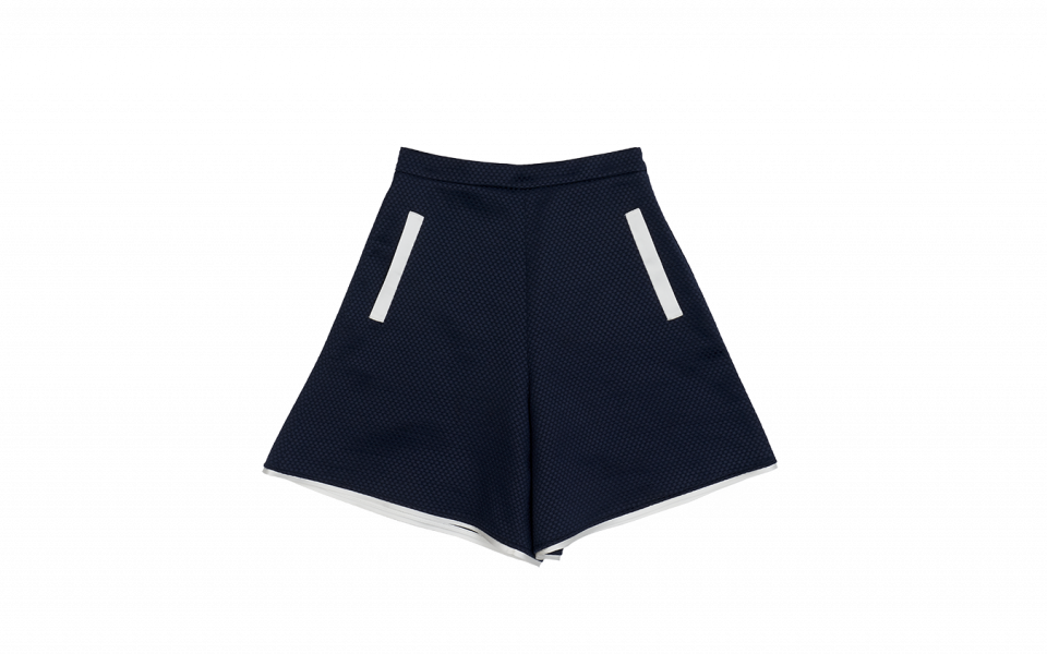 Emporio Armani Quilted High Waist Shorts