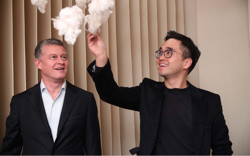 Jean-Baptiste Debains, Adrian Cheng