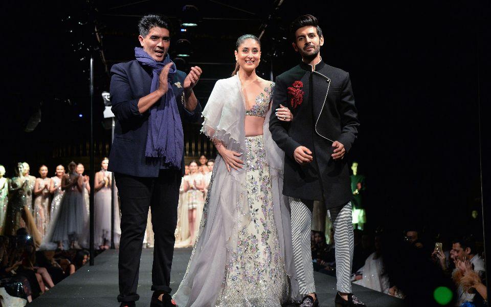 Manish Malhotra, Kareena Kapoor Khan, Kartik Aryaan