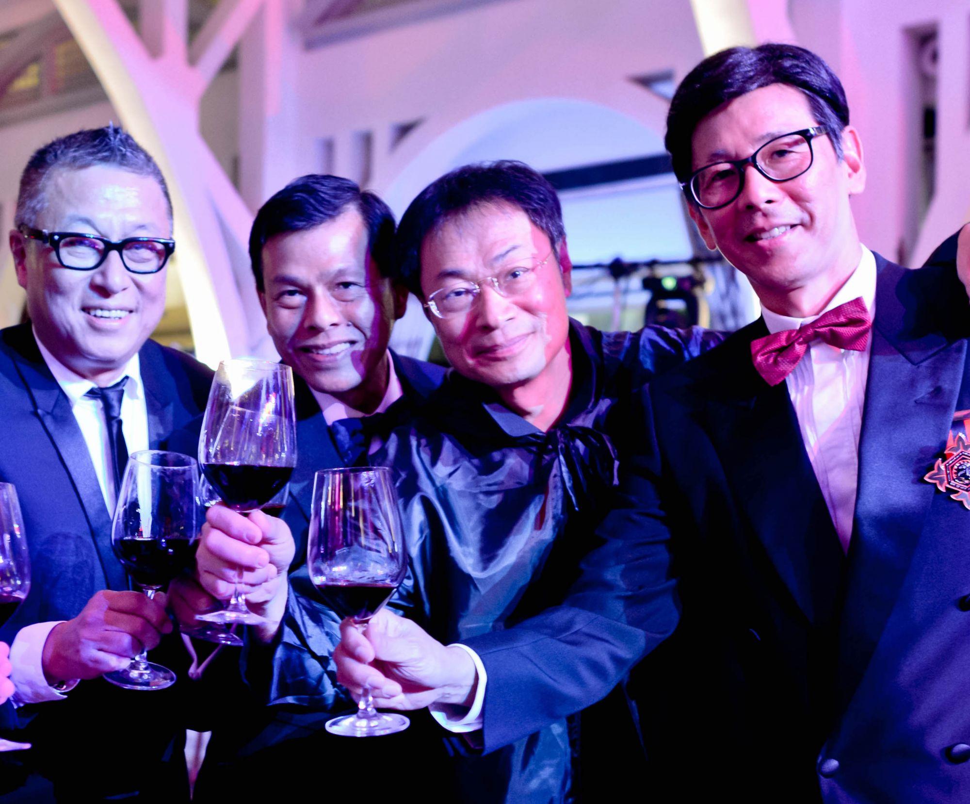 Tony Chen, Ang Kow Liang, Hardjanto, Chan Boon Tee