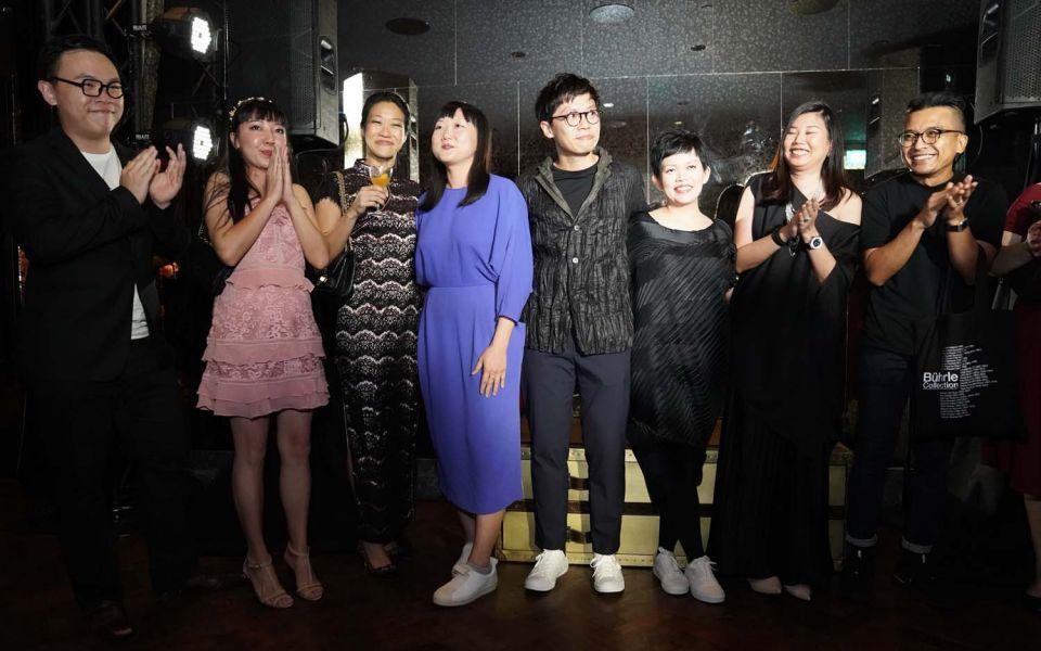 Joshua Ip, Teresa Lim, Karen Tan, Olivia Lee, Timo Wong, Priscilla Lui, Cherin Tan, Farizwan Fajari