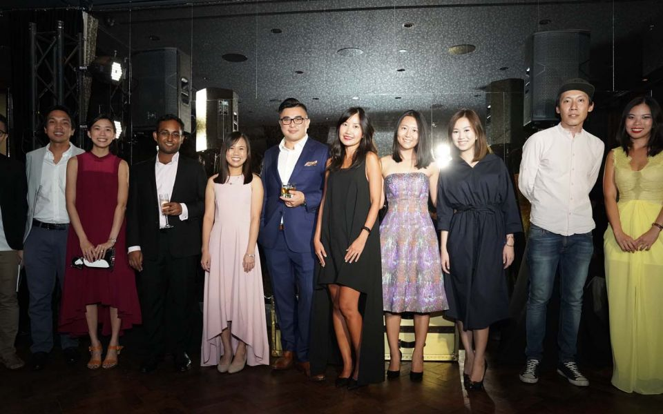 Larry Tchiou, Veerappan Swaminathan, Debra Lam, Marcus Ang, Li Jingmei, Andie Ang, Hazel Kweh, Dennis Tay, Grace Sai