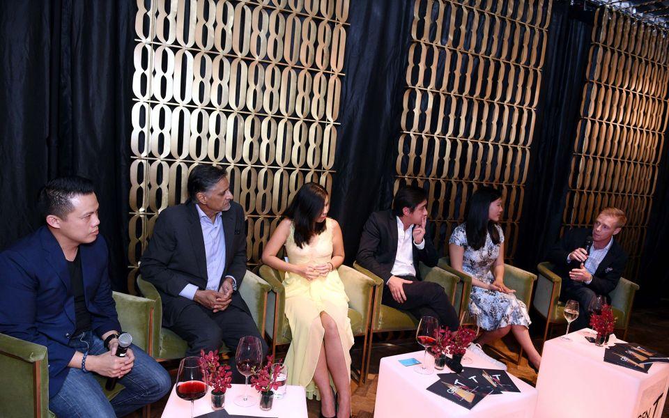 Teh Hua Gung, Iqbal Jumabhoy, Grace Sai, Leon Foo, Annabelle Kwok, Marc Nicholson